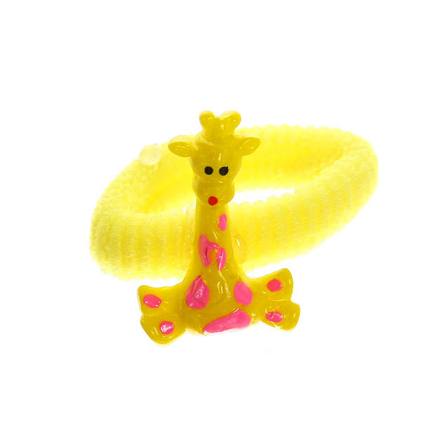 Резинки для волос на блистере 12шт ″Жирафик″, цвет микс купить оптом и в розницу