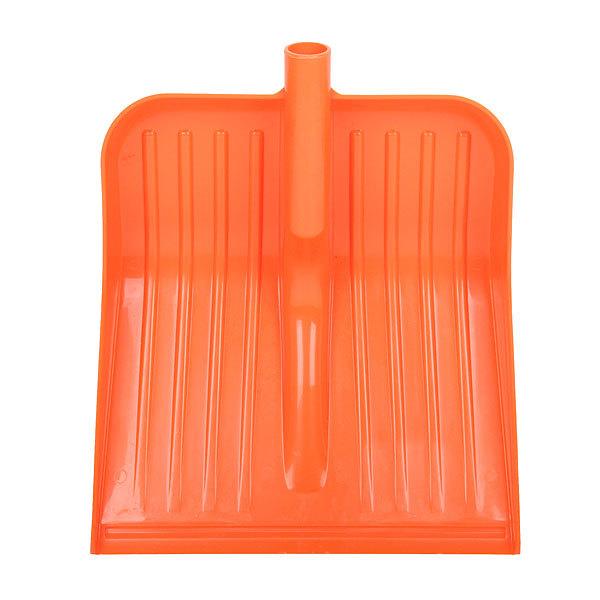 Лопата снеговая пластикова без планки 37х39 см купить оптом и в розницу