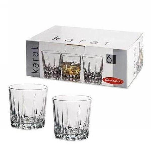 Набор стаканов для виски 6шт 302мл ″Карат″ купить оптом и в розницу
