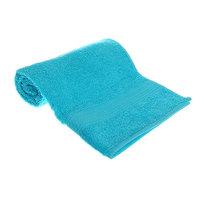 Махровое полотенце 50*90см светло-голубое ЭК90 Д01 купить оптом и в розницу