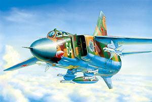 Сб.модель 7218 Самолет МиГ-23МЛД купить оптом и в розницу