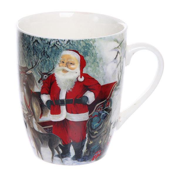 Кружка керамическая 300мл ″Дед Мороз″ купить оптом и в розницу