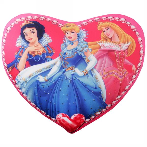 Подушка декоративная 39*33см ″Принцессы″ купить оптом и в розницу
