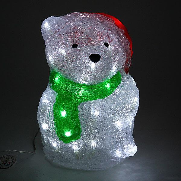 Фигура светодиодная 29*21*22см ″Мишка″ купить оптом и в розницу