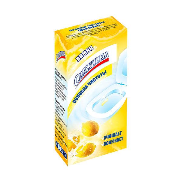 Полоска чистоты ″Свежинка″ Лимон 3*10гр купить оптом и в розницу