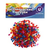 Аксессуар для дизайна ″Камни мелкие″ 100гр разноцветные ″Ультрамарин″ купить оптом и в розницу