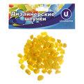Украшение декоративное ″Камни средние″ 100гр желтые купить оптом и в розницу