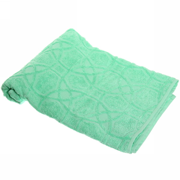 Махровое полотенце 50*100см Светлая мята жаккард ЖК100-2-008-032 купить оптом и в розницу