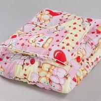 Одеяло 110х140 шерсть овечья бязь арт.109,109М Миромакс  купить оптом и в розницу