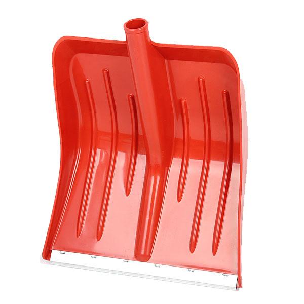 Лопата снеговая ,пластиковая с планкой 36х42 см купить оптом и в розницу