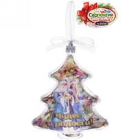 Игрушка-ёлочка ″Чудес и радости!″, Дед Мороз и Снегурочка купить оптом и в розницу