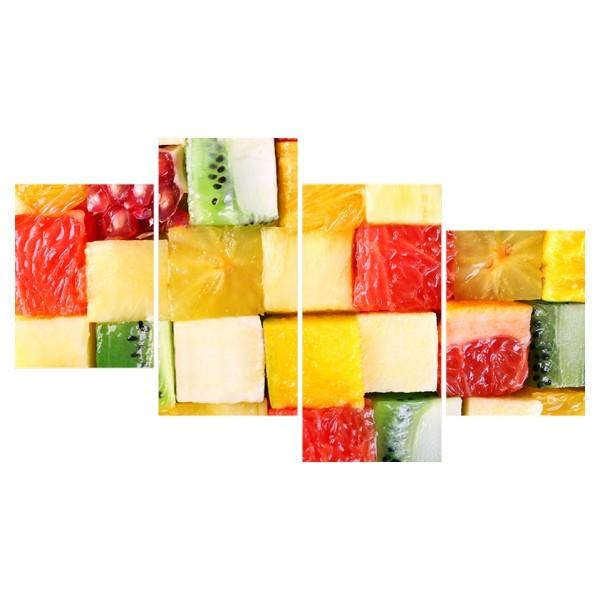 Картина модульная полиптих 60*129 Еда диз.31 81-03 купить оптом и в розницу