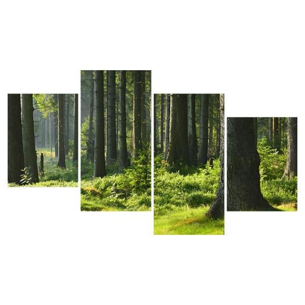 Картина модульная полиптих 60*129 Природа диз.28 82-03 купить оптом и в розницу