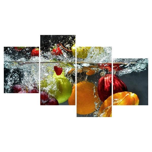 Картина модульная полиптих 60*129 Еда диз.32 83-03 купить оптом и в розницу