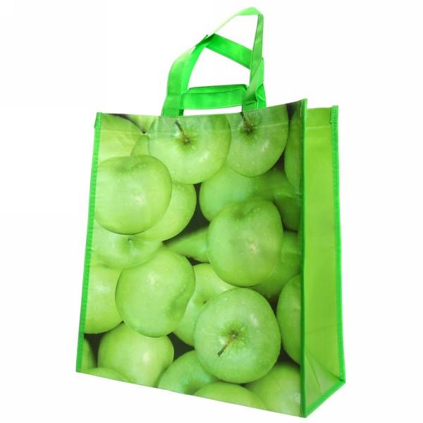 Сумка хозяйственная 40*35*20 ″Яблоки″ купить оптом и в розницу