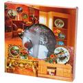 Тарелка керамическая 20см ″Петух и сарай″ купить оптом и в розницу