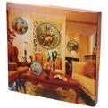 Тарелка керамическая 20см ″Петух и цветы″ купить оптом и в розницу