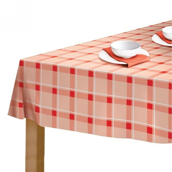 Скатерть ″Red kitchen″ 110*140см полиэстер, дизайн 2/40/8 67408 купить оптом и в розницу