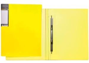 """Папка скоросш.Hatber А4 """"HD"""" Неоново-желтая, 17мм купить оптом и в розницу"""