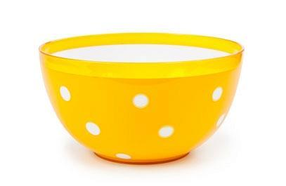 """Салатник двухцветный """"Marusya"""" 0,7 л (оранжевый)  *33 купить оптом и в розницу"""