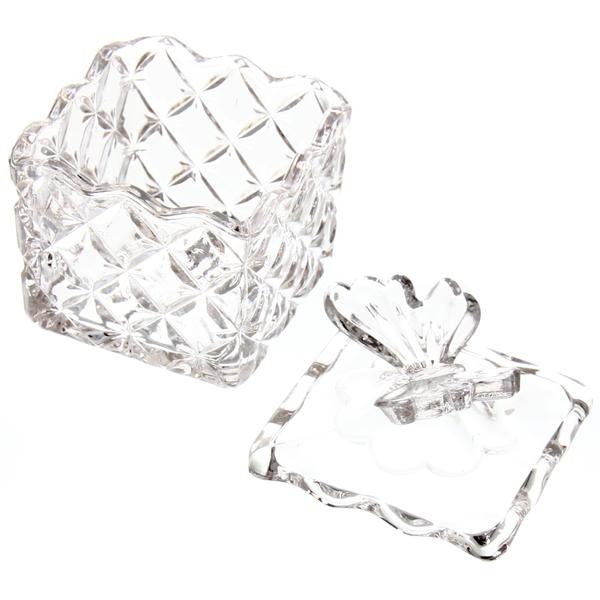 Сахарница стеклянная 200 мл ″Бабочка″ TG1507 купить оптом и в розницу