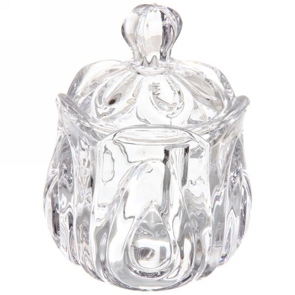 Сахарница стеклянная 250 мл ″Тюльпаны″ купить оптом и в розницу
