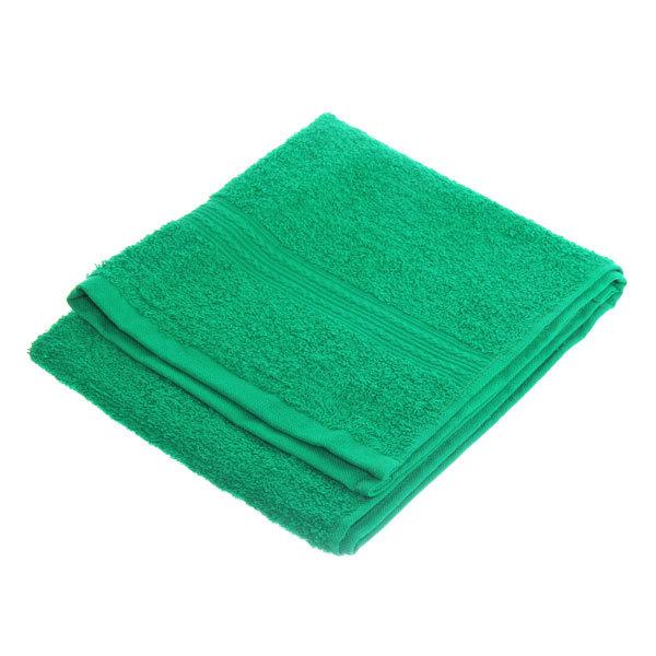 Махровое полотенце 40*70см ярко-зеленое ЭК70 Д01 купить оптом и в розницу