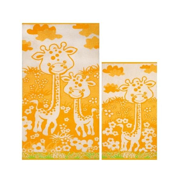 ПЦ-3502-1824 полотенце 70х130 махр п/т Giraffa цв.10000  купить оптом и в розницу