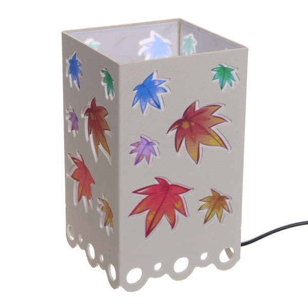 Светильник декоративный ″Листья″, 17 см, 220 В купить оптом и в розницу
