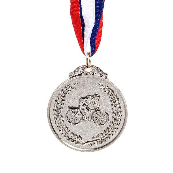 Медаль ″Велоспорт″ - 2 место (6,5см) купить оптом и в розницу