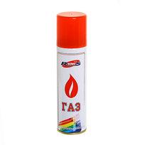 Газ для зажигалок ″RUNIS″, метал. баллон, 210мл.,белый (с насадками) (1-041) купить оптом и в розницу