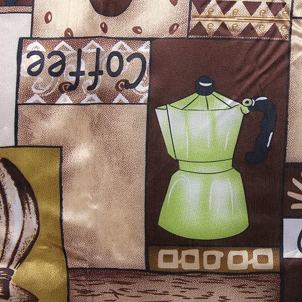 Скатерть ″Ассорти″ 120*150см полиэстер, кофе Ультрамарин купить оптом и в розницу