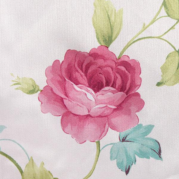 Скатерть ″Ассорти″ 120*150см полиэстер, цветы Ультрамарин купить оптом и в розницу