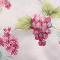 Скатерть ″Ассорти″ 140*180см полиэстер, цветы Ультрамарин купить оптом и в розницу