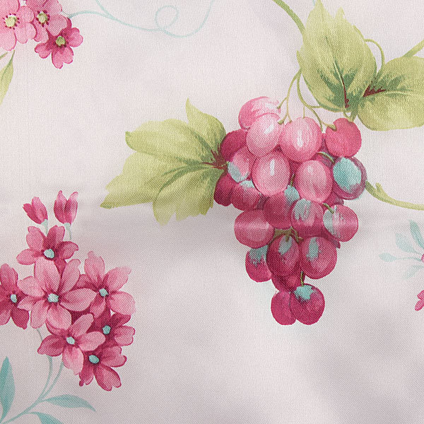 Скатерть ″Ассорти″ 140*220см полиэстер, цветы Ультрамарин купить оптом и в розницу