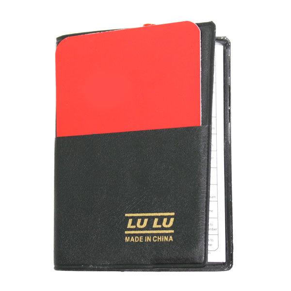 Набор судьи (красная и желтая карточки, карандаш, форма для записи, чехол) купить оптом и в розницу