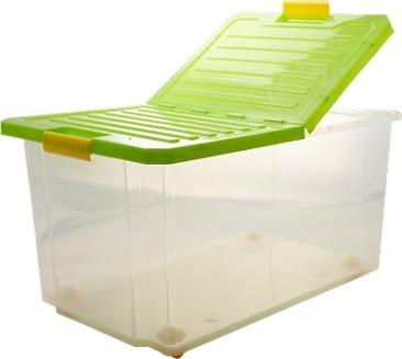 Ящик дляхранения Unibox 57л на роликах * 5 купить оптом и в розницу