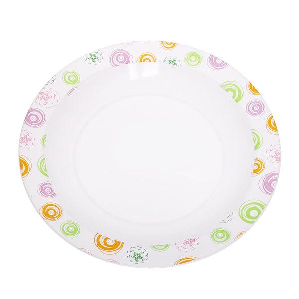 Тарелка пластиковая ″Пикник″ 25 см А1 купить оптом и в розницу