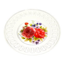 Тарелка пластиковая ″Ажурная″ 16 см купить оптом и в розницу