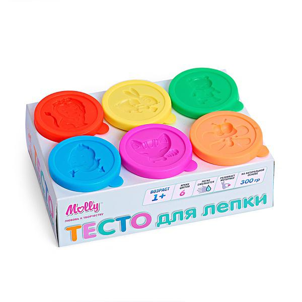 Набор ДТ Тесто для лепки 6 цв. М1209 купить оптом и в розницу