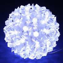 Светодиодный ″Шар″ 12см, 50 ламп LED, Белый купить оптом и в розницу