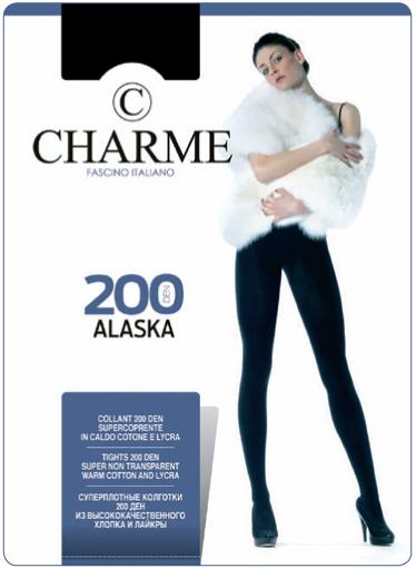 Колготки женские Alaska CHARME 200 caffe 1/2 S (коричневый) купить оптом и в розницу