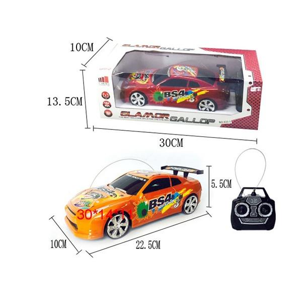 Машина р/у 633-1 в кор. купить оптом и в розницу