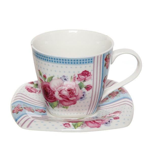 Чайный набор 4 предмета (2кружки 200мл+2блюдца ) ″Мечта″ купить оптом и в розницу