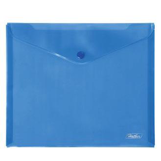 Папка-конверт А5 Синяя 15102 Hatber купить оптом и в розницу
