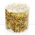 Бусы на ёлку золото 10м ″Снежинки, снеговики и шарики″ купить оптом и в розницу