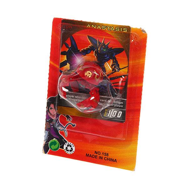 Мячик-трансформер 3,5см красный, на блистере купить оптом и в розницу
