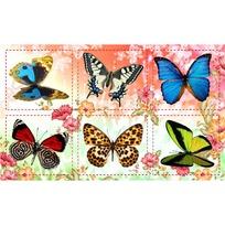 Наклейки Бабочки 3009 /Квадра/ купить оптом и в розницу