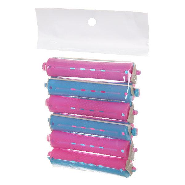 Бигуди пластмассовые-коклюшки пластиковые d=16мм 6шт 439-2 купить оптом и в розницу