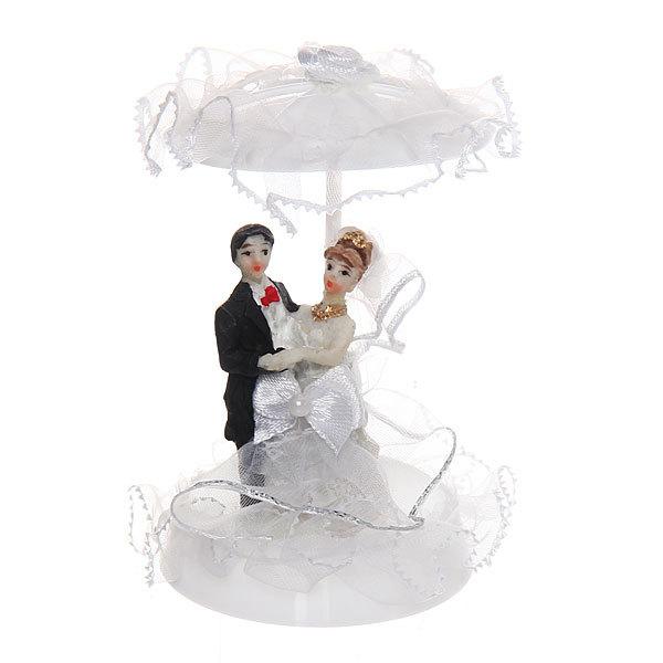 Статуэтка ″Свадебная коллекция″ Под зонтиком 9*6см 107 купить оптом и в розницу